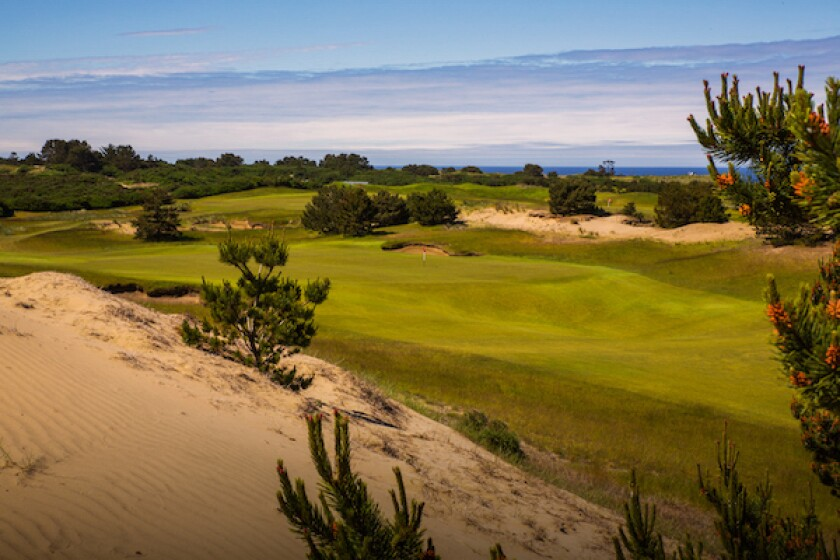 Bandon Dunes, Old Macdonald, Hole No. 4