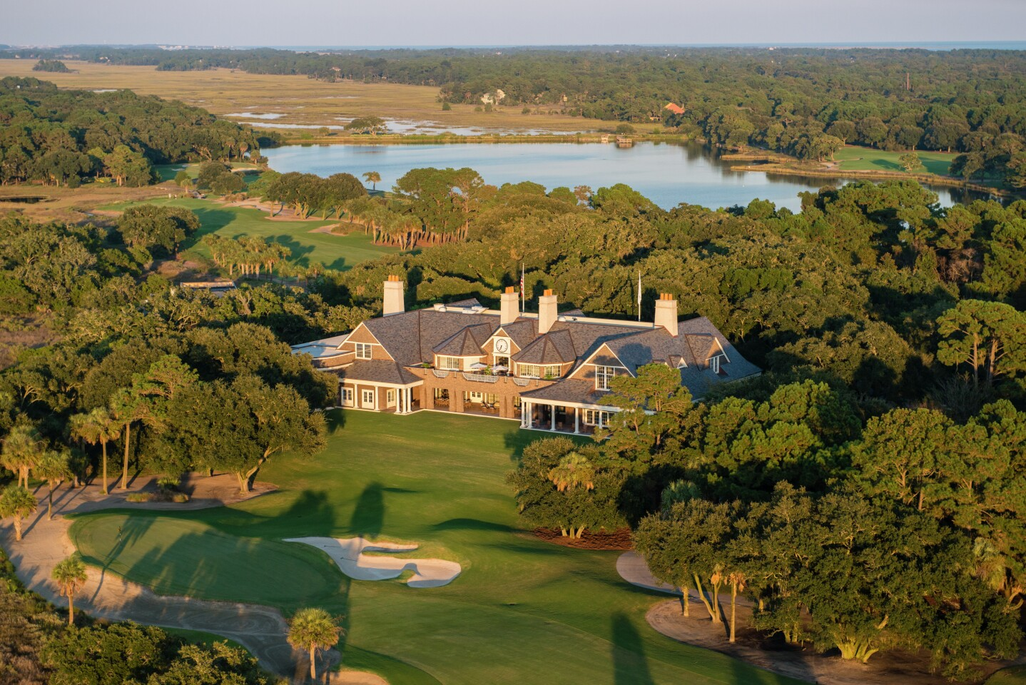The River Course: Clubhouse