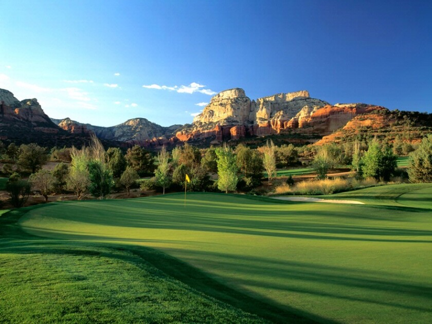 Seven Canyons Golf Club in Sedona Arizona