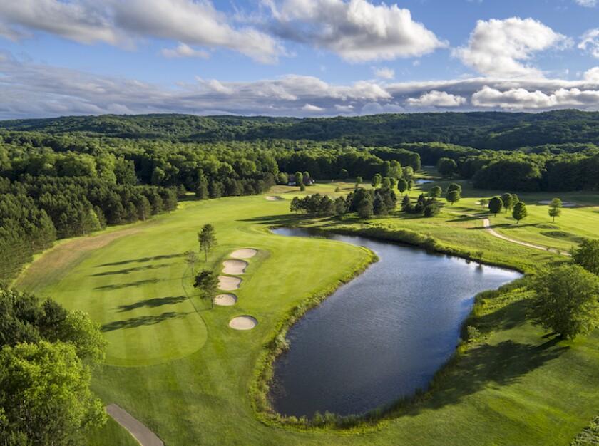 13th hole, Boyne Highlands Ross Course