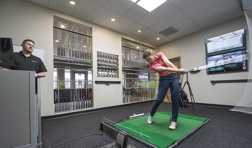 Golftec Club Fitting Scene