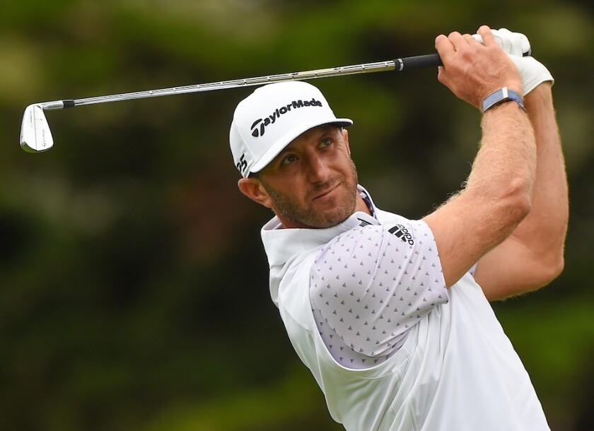 Dustin Johnson at 2020 PGA Championship