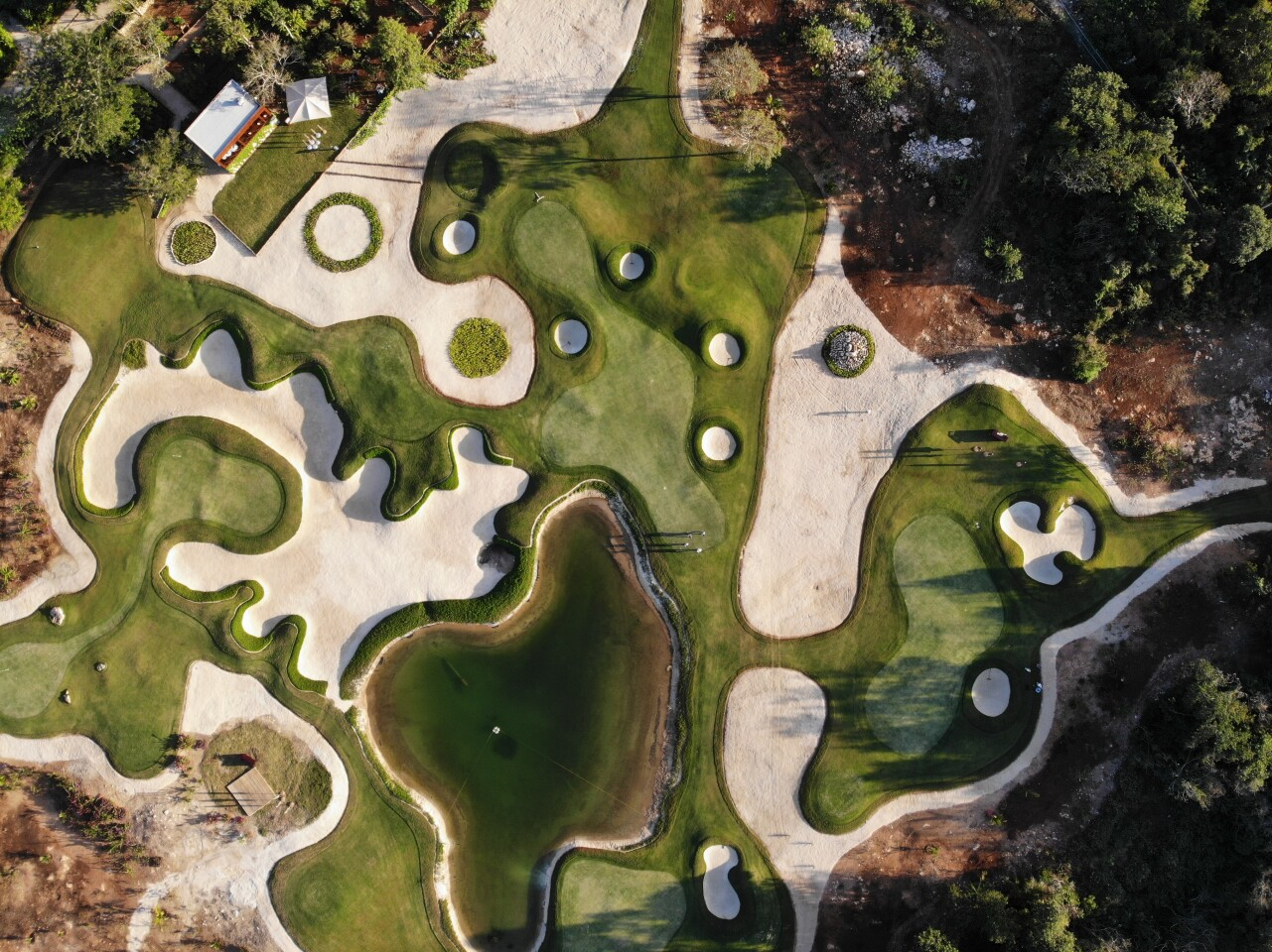 Chable Hotel, Wellness Golf — Aerial View