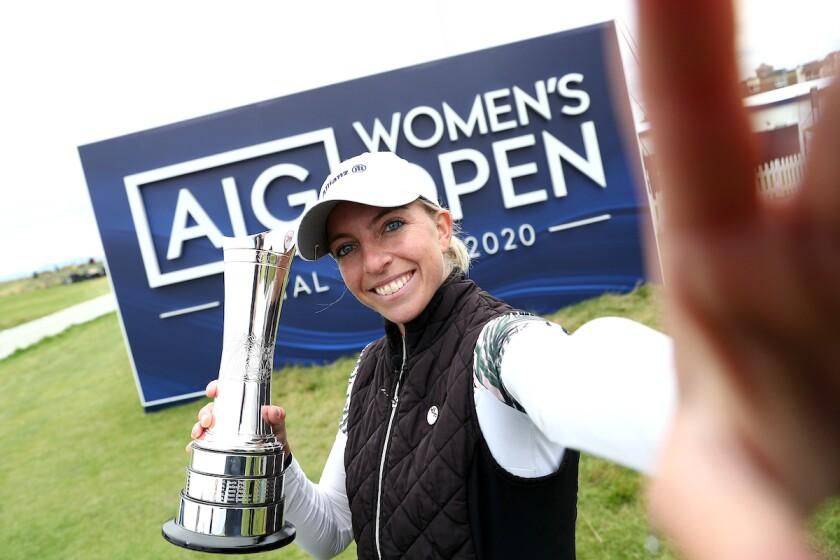 Sophia Popov wins 2020 Women's British Open