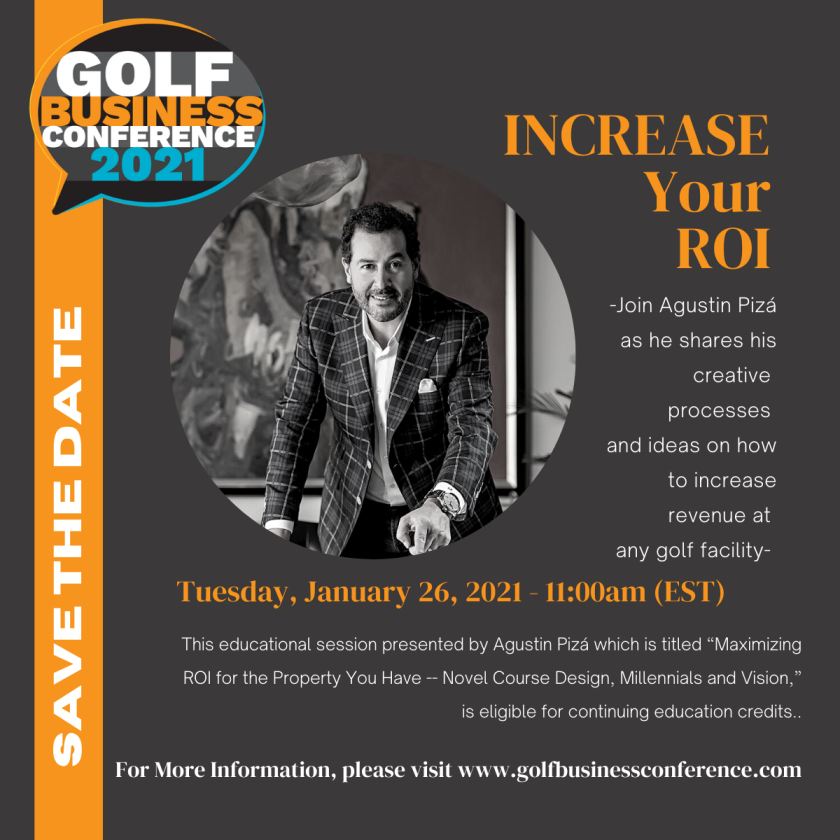 Agustin Piza 2021 Golf Business Conference