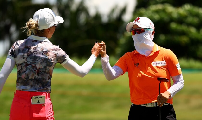 Hyo Joo Kim wins 2021 HSBC Women's World Championship in Singapore