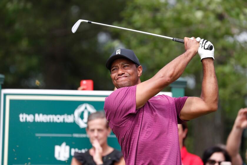 Tiger Woods Memorial Tournament