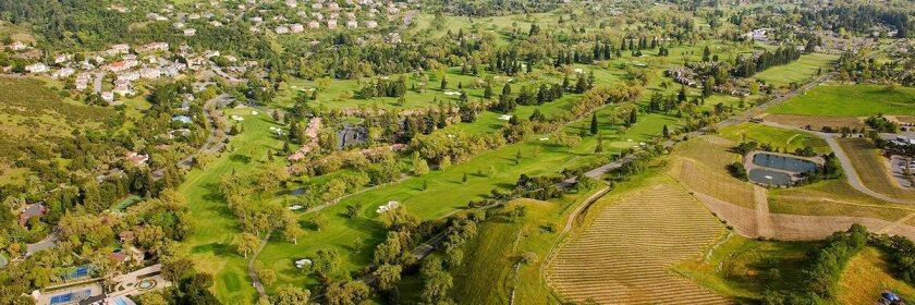Silverado Resort and Spa aerial