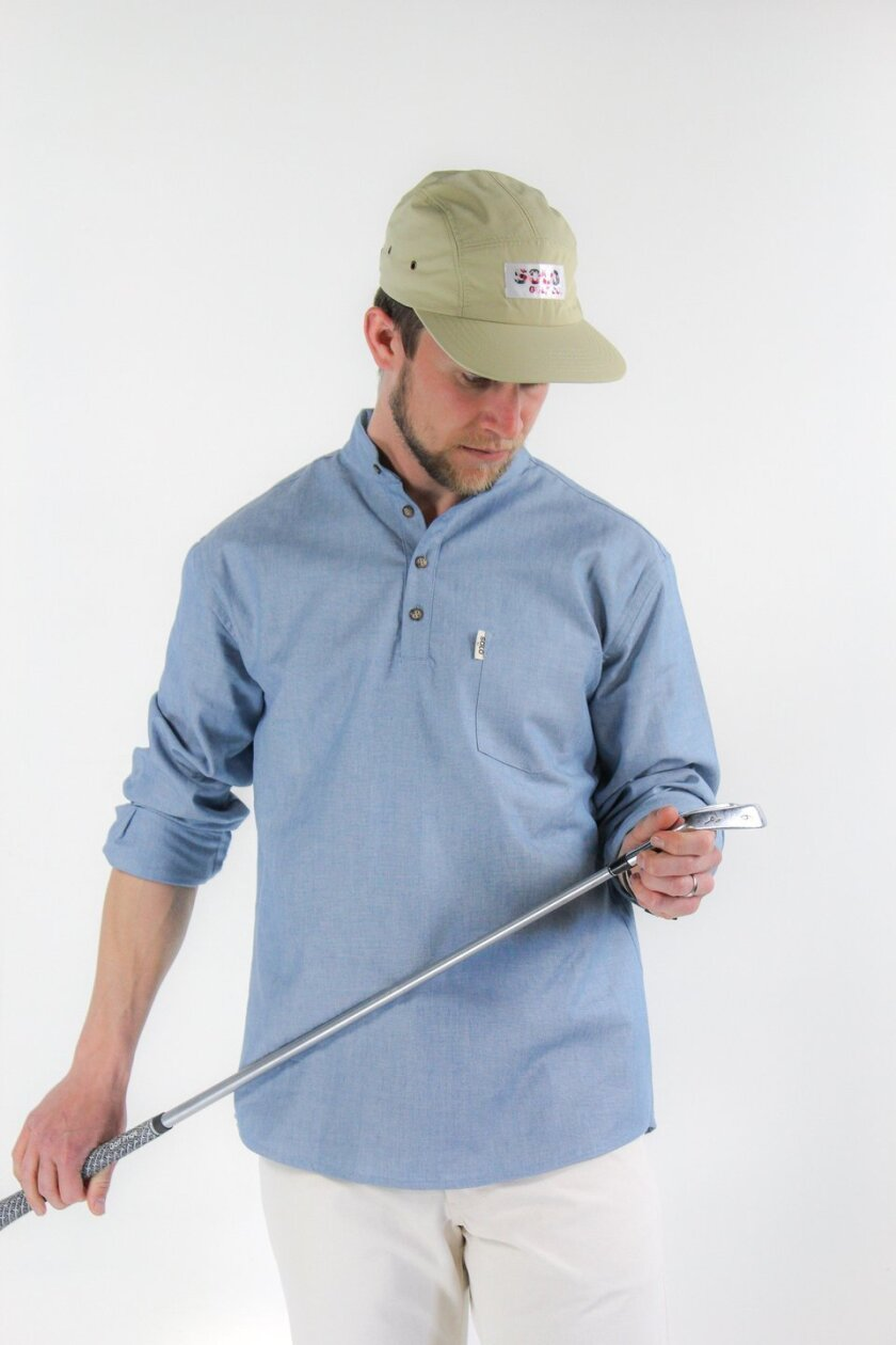 Solo Golf Co. — Long Sleeve Band Collar