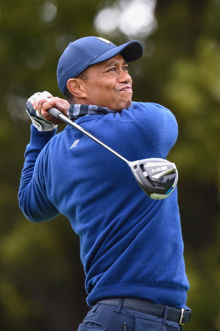 Tiger Woods 2020 PGA Championship 1st round
