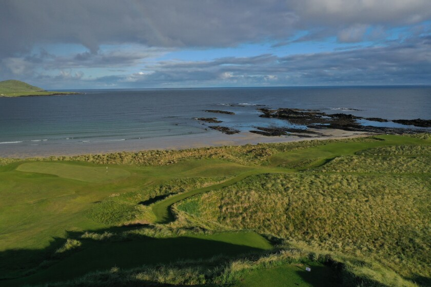 Narin & Portnoo Links — Hole No. 9