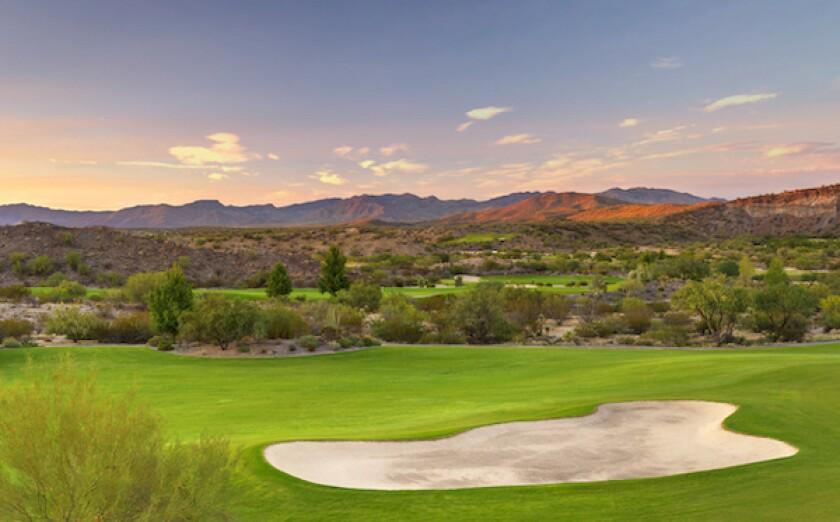 Wickenburg Ranch Golf and Social Club (Big Wick) Hole 1