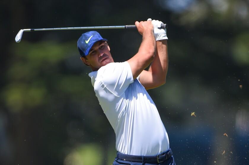 Brooks Koepka 2020 PGA Championship 2nd round