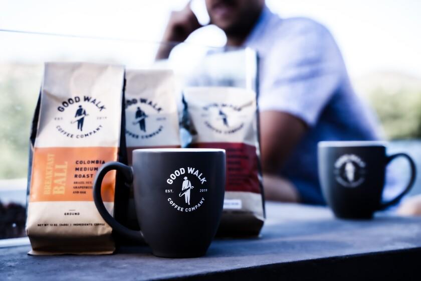 Good Walk Coffee Co. — mugs and coffee