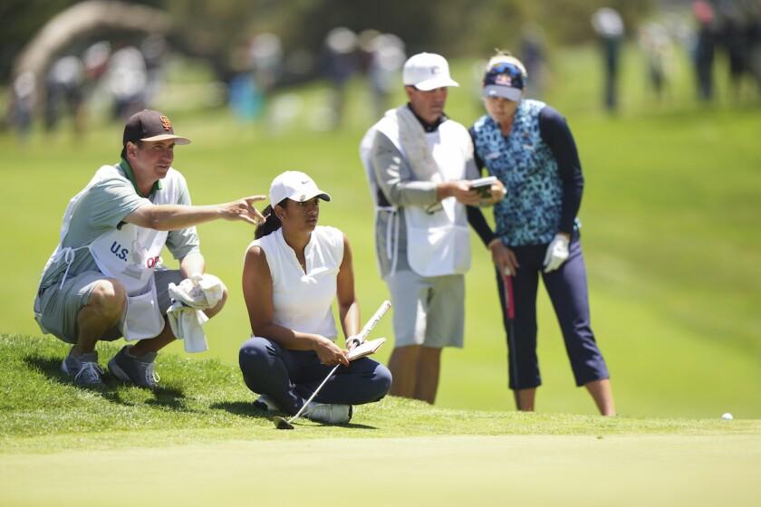 Megha Ganne at 2021 U.S. Women's Open