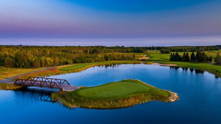 Sweetgrass Golf Club — Turtle Hole 15