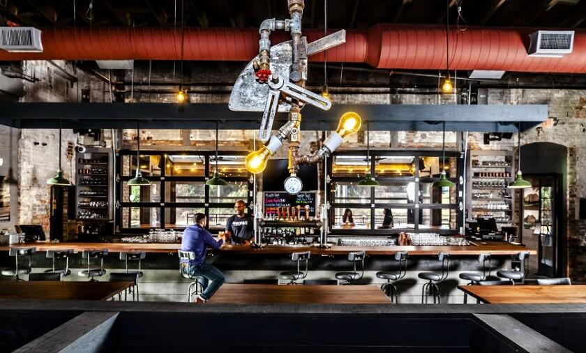Pinehurst Brewing Co. — Interior