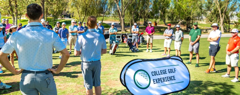 College Golf Experience — 2