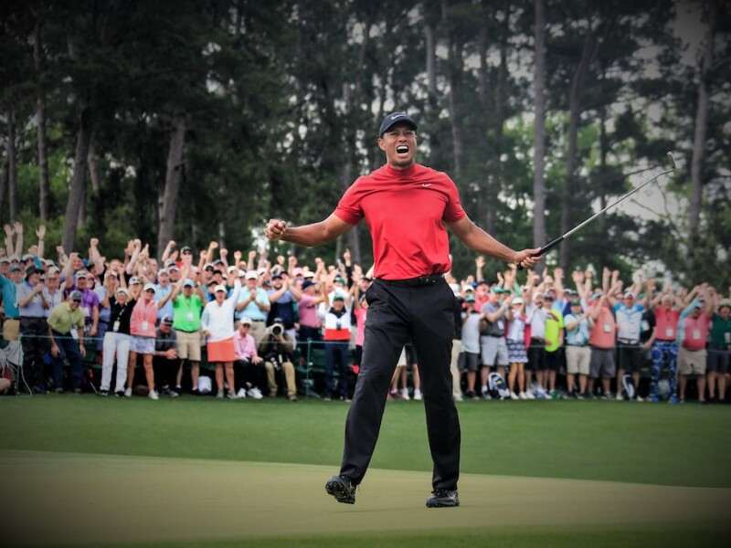 Tiger Woods, 2019 Masters