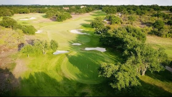 Briggs Ranch Golf Club — Hole No. 10