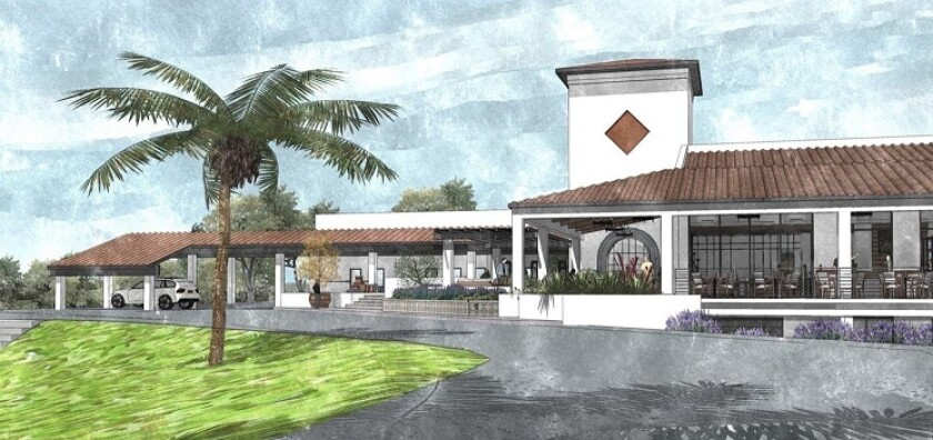 Castlewood Country Club in Pleasanton, Calif., rendering