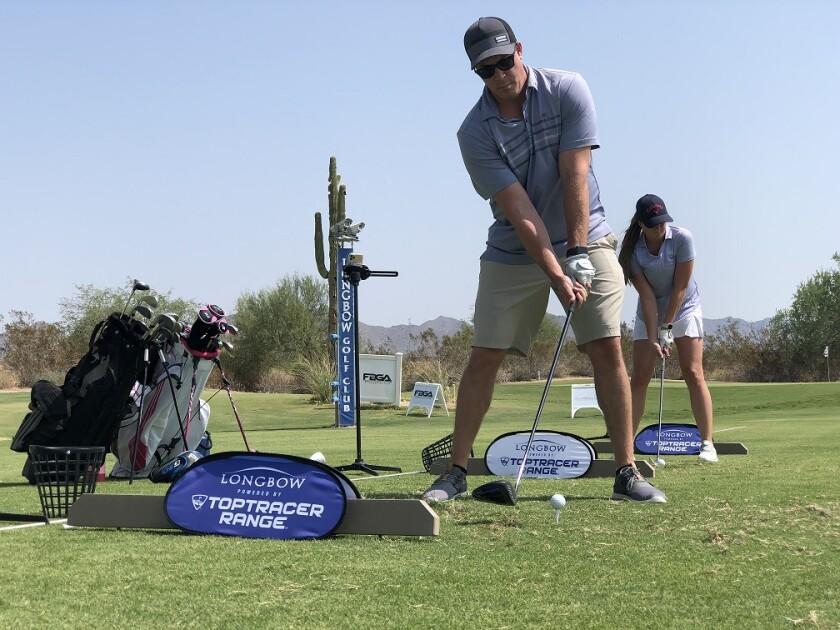 Longbow Golf Club Toptracer Range
