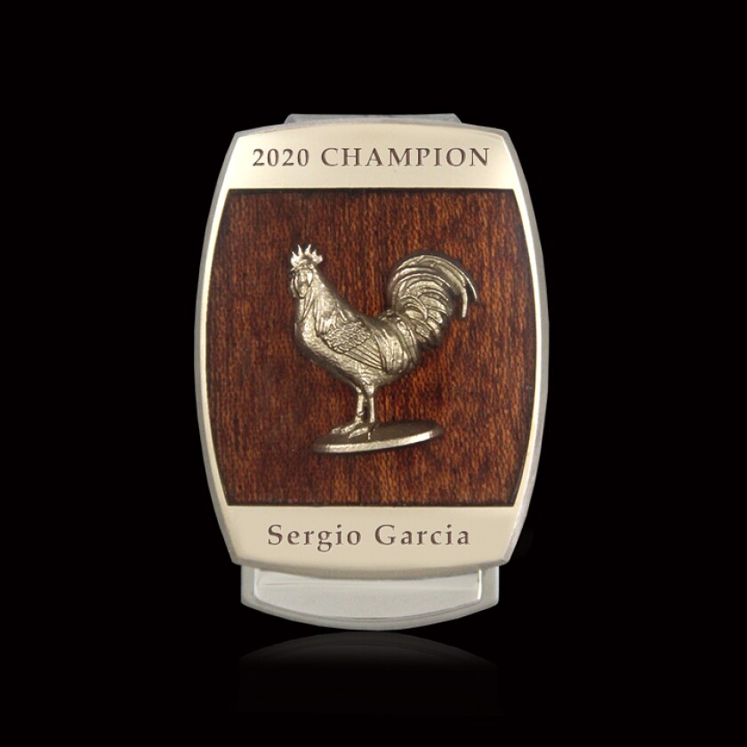 Sanderson Farms Championship money clip by Malcolm DeMille