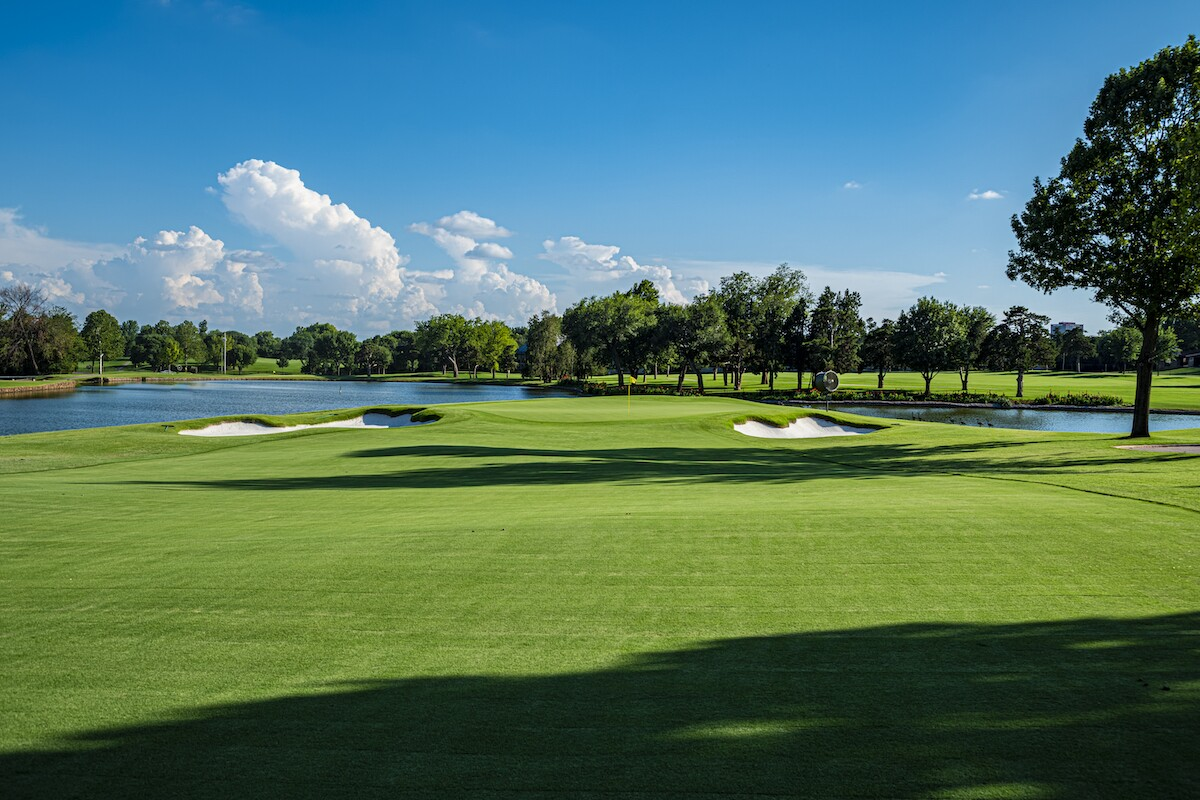 Oklahoma City Golf and Country Club — Hole No. 4