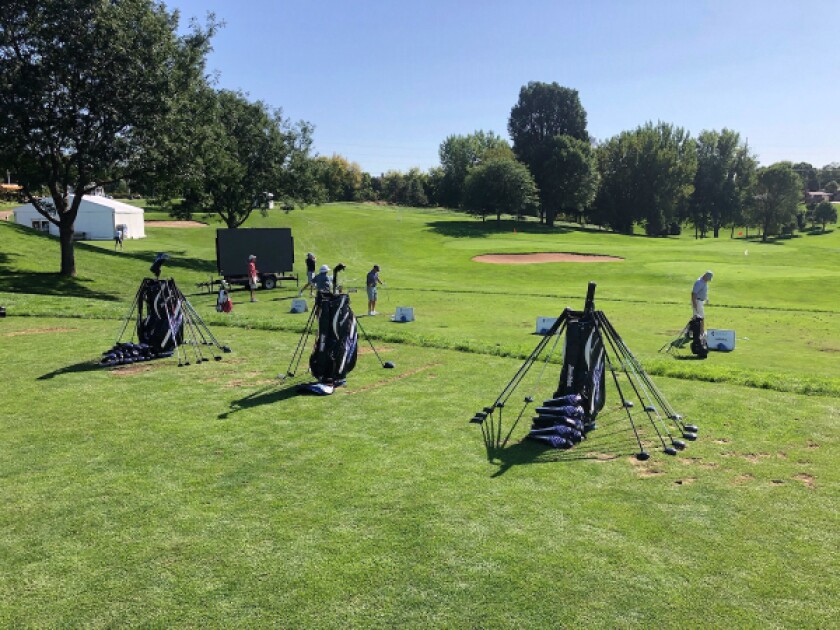 Tour Edge Driving Range