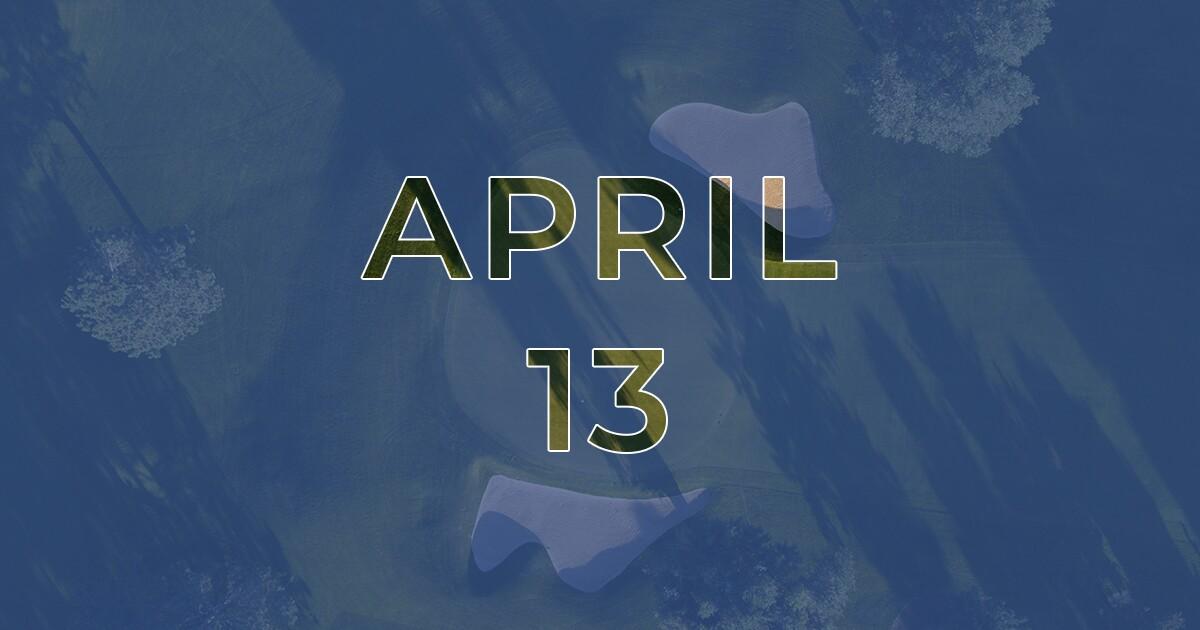 Golf News Hub - April, 13 - Live COVID-19 Golf News