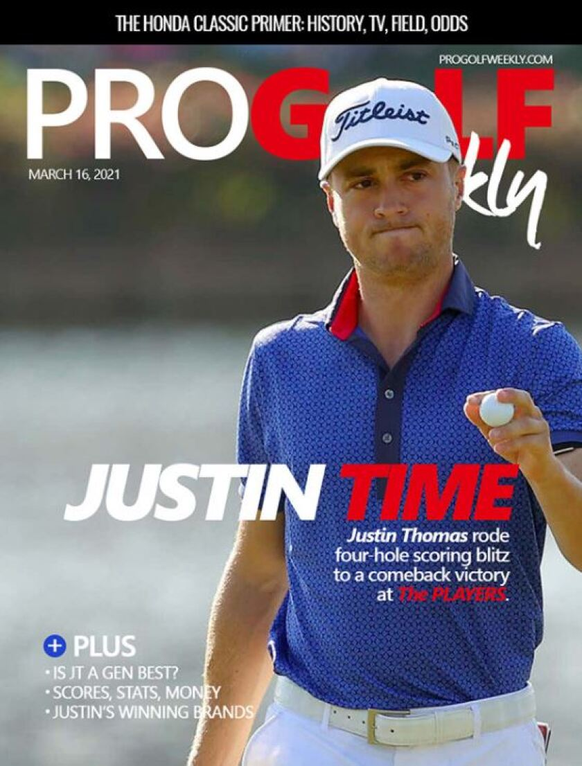Pro Golf Weekly — March 2021