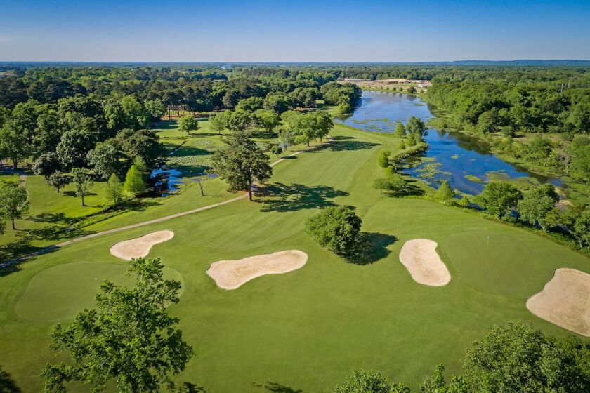 Lagoon Park Golf Course in Montgomery Alabama