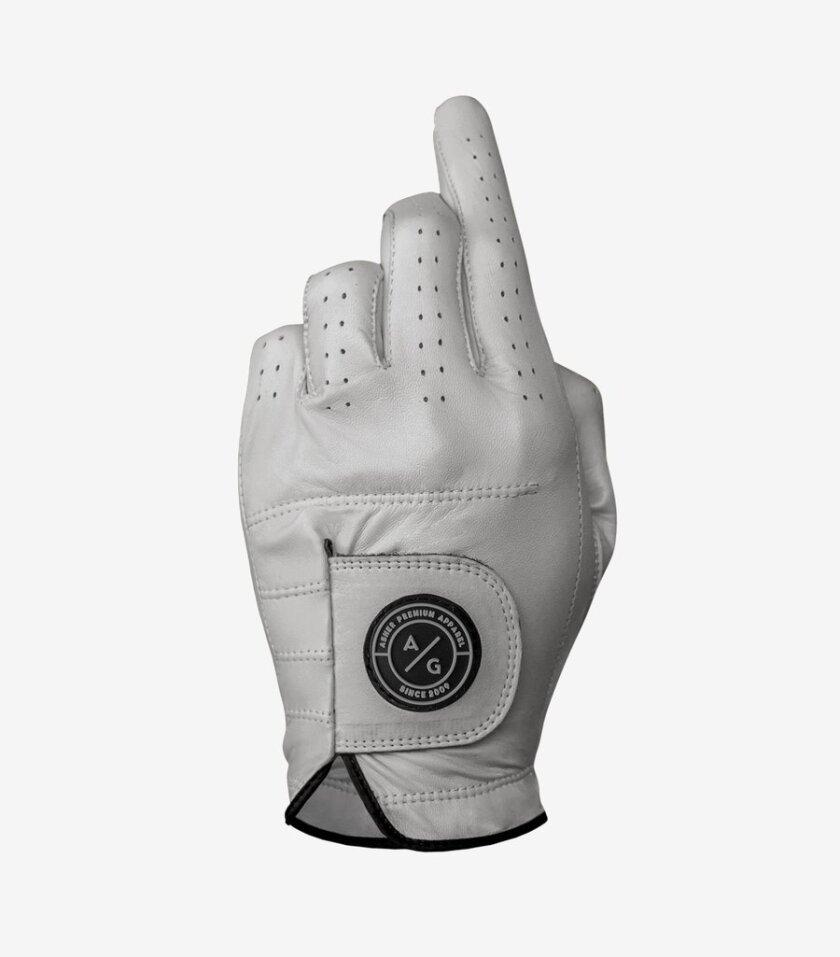 Asher Golf — Premium Collection Glove (Back)