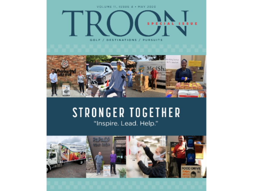 Troon Magazine cover May 2020