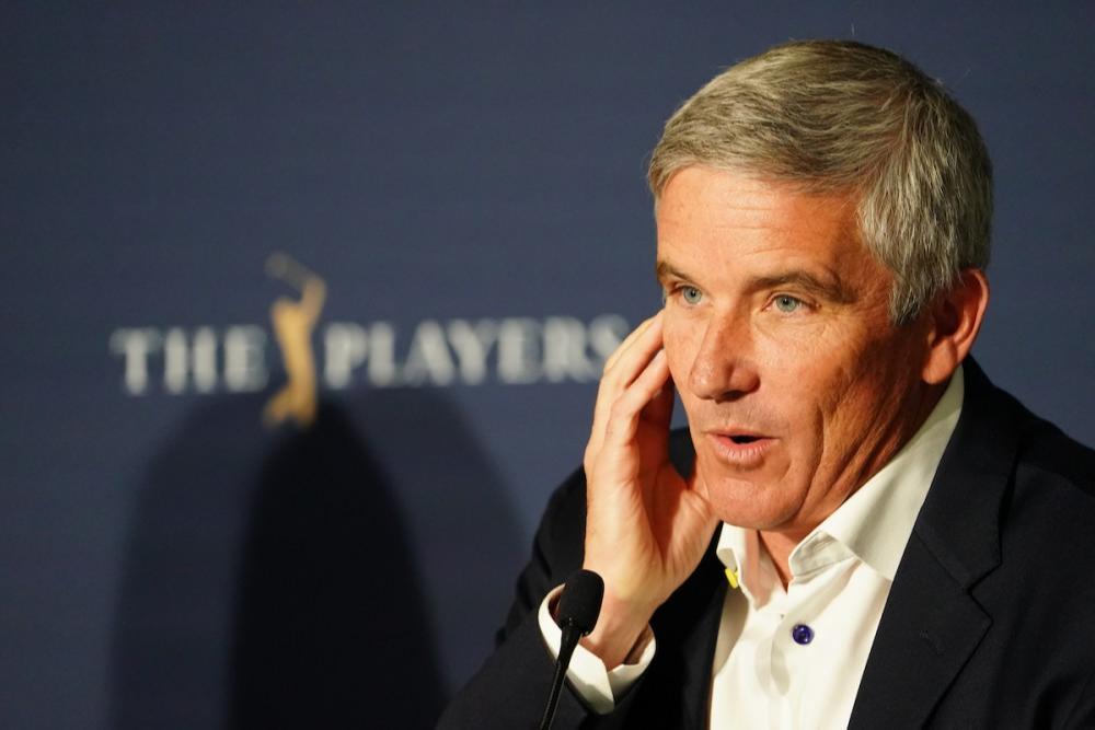 PGA Tour commissioner Jay Monahan