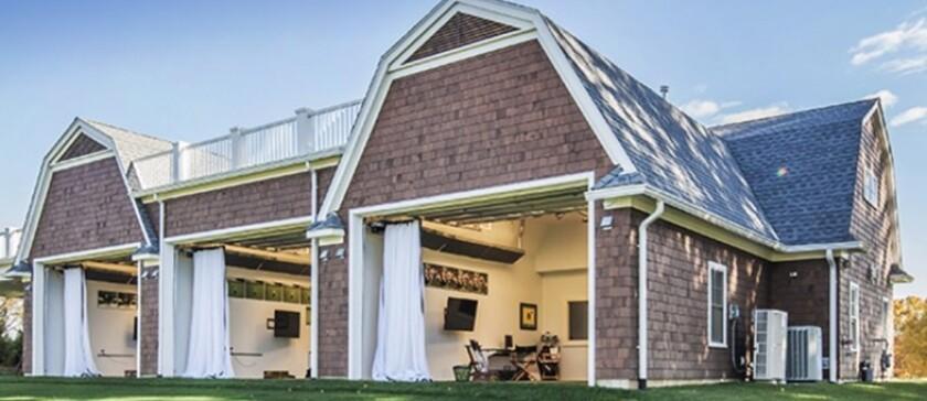 St. Andrew's Golf Club — Hitting Bays, External