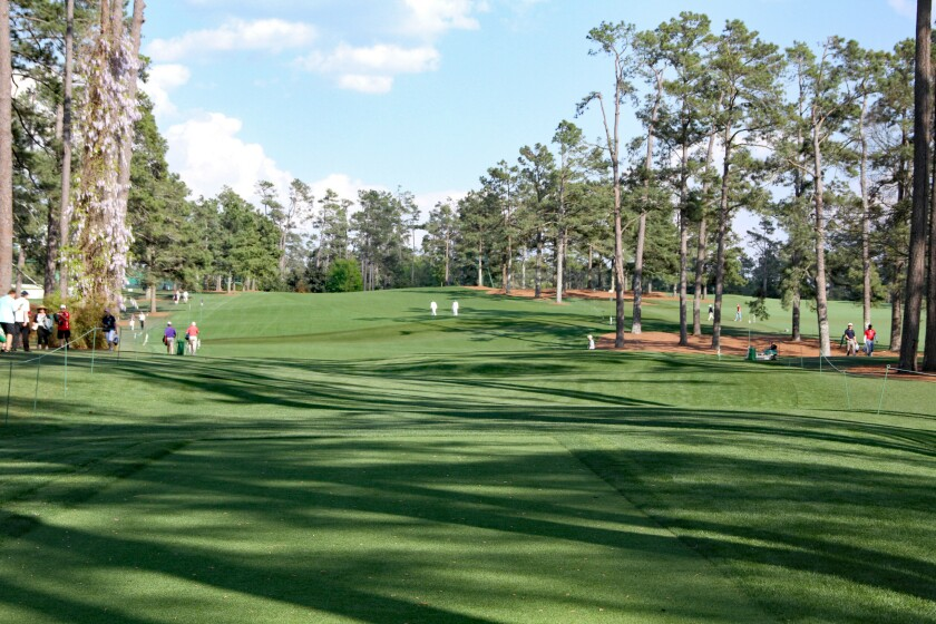 Augusta National Golf Club — Hole 17
