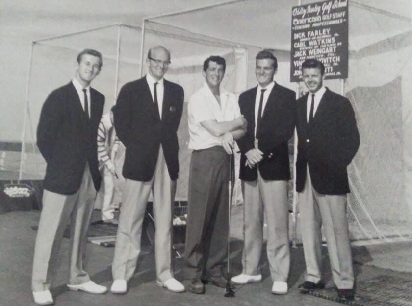 Vince Yanovitch and Dean Martin