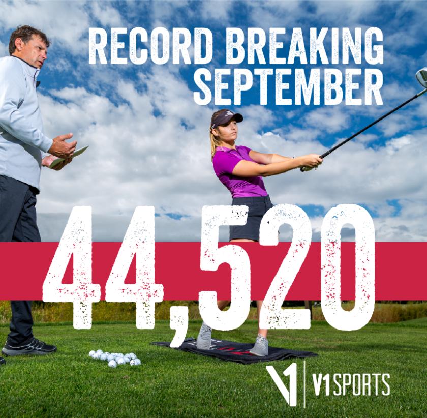 V1 Sports September 2020 graphic