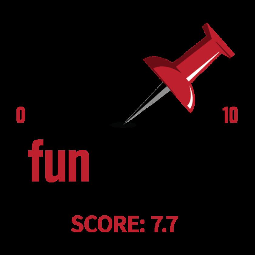 7.7 Fun Meter