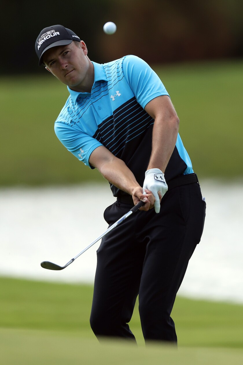 Jordan Spieth shoots 63 to co-lead first round of 2021 AT&T Byron Nelson