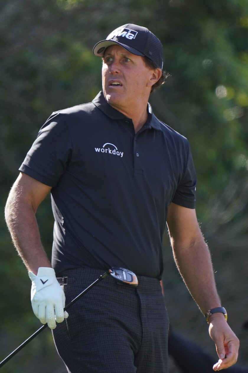 Phil Mickelson at 2020 Genesis Invitational