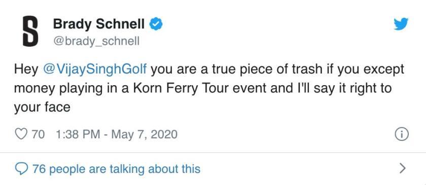Brady Schnell tweet 1