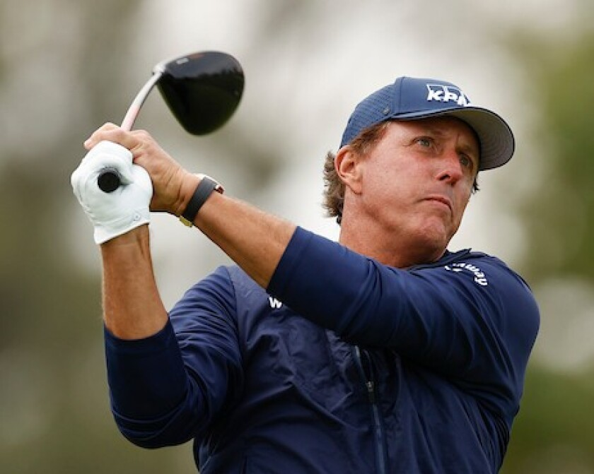 Phil Mickelson at 2020 U.S. Open