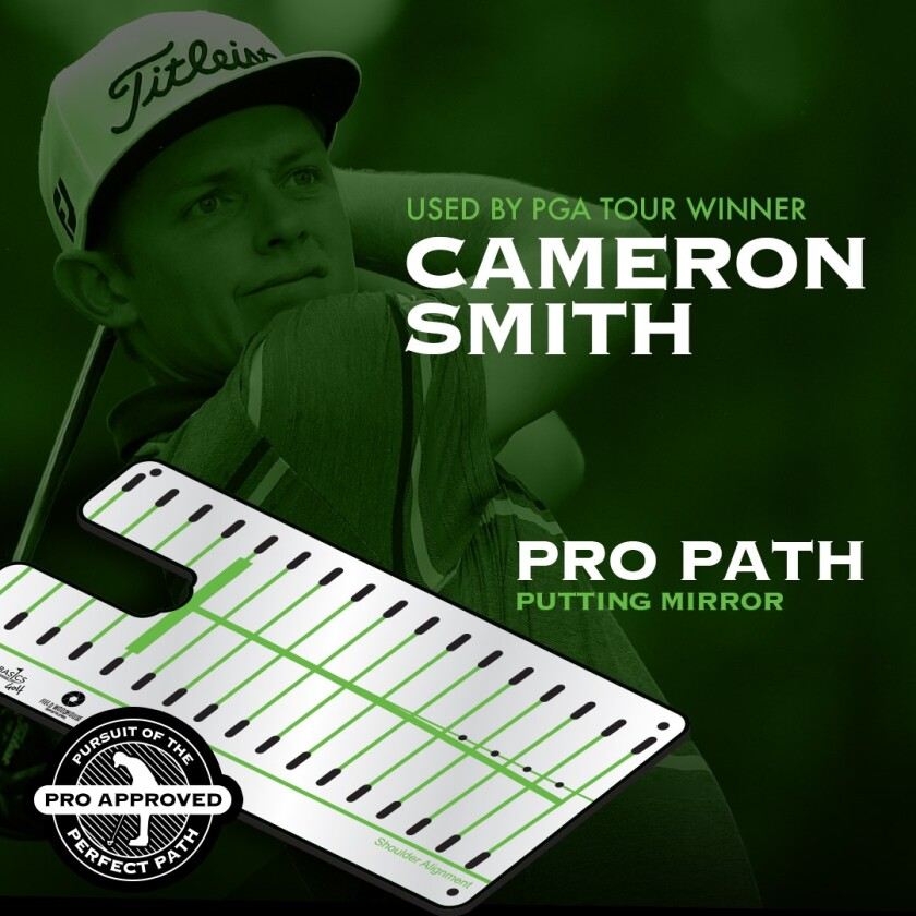 Pro Path Putting Mirror with Cameron Smith
