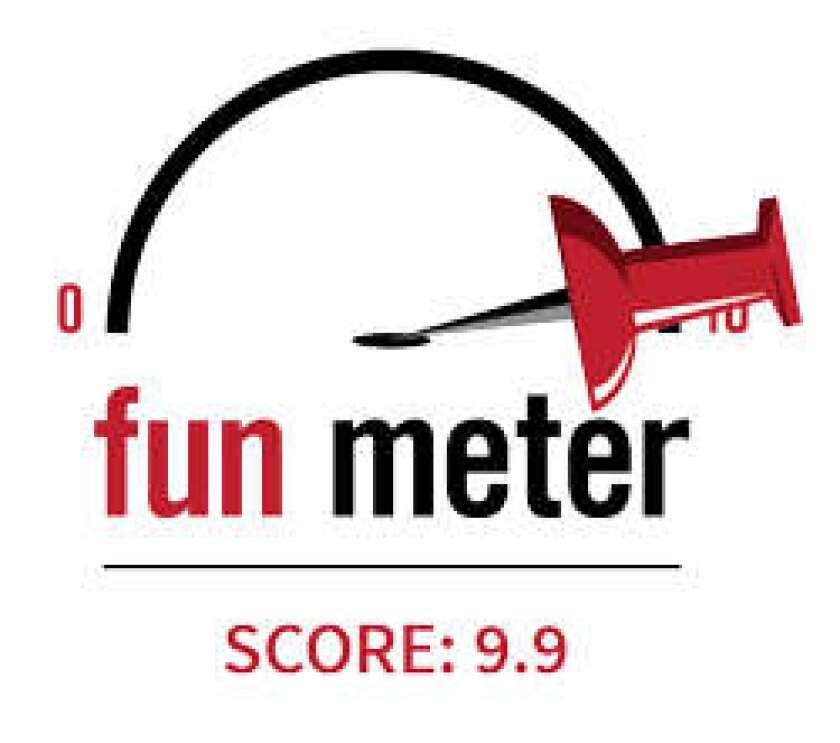 9.9 Fun Meter Score