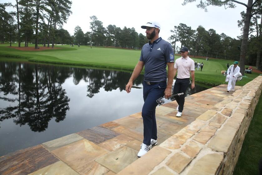 Sarazen Bridge at Augusta National Golf Club at the Masters
