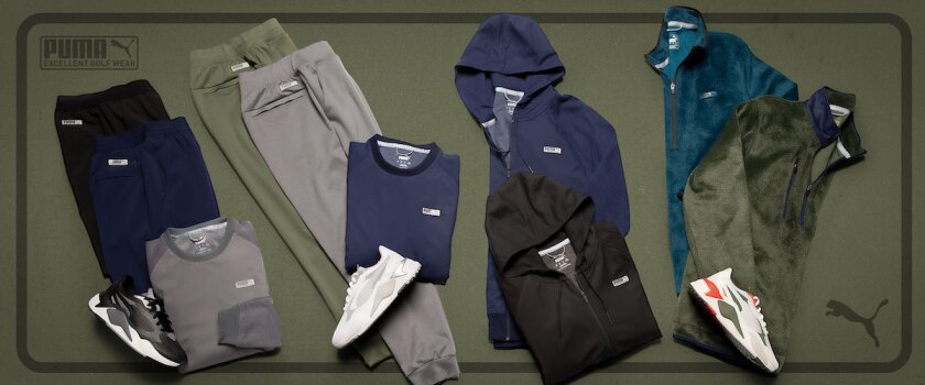 Puma Golf Excellent Golf Wear Collection