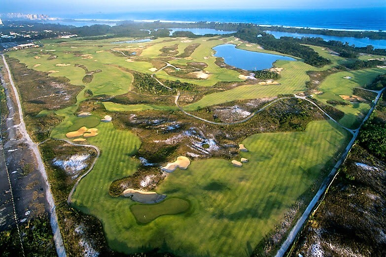 Rio Olympic Golf Course — Aerial
