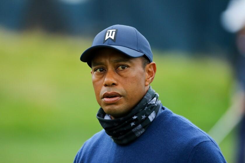 Tiger Woods at 2020 PGA Championship